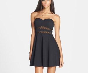 fashion, model, and chic dress image
