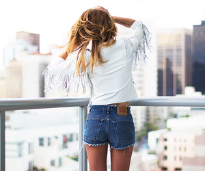 fashion, outfit, and city image