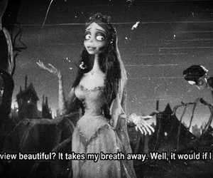 black and white, the corpse bride, and g image