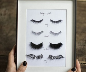 diy, eyelashes, and makeup image