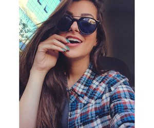 linda, oculos, and morena image