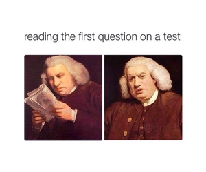 funny, true, and exams image