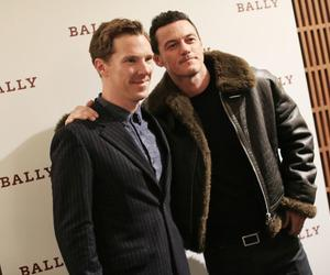 handsome, luke evans, and Hot image