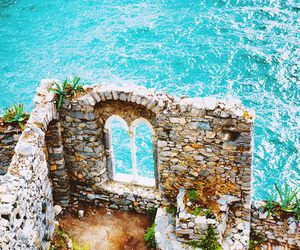 sea, blue, and italy image