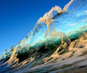 waves, summer, and sea image