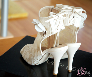 heels, pastel, and forever new image