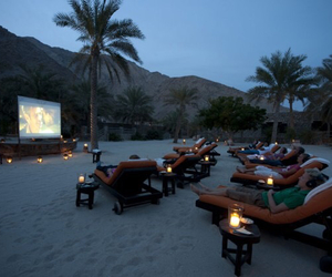 beach, candles, and outdoor image
