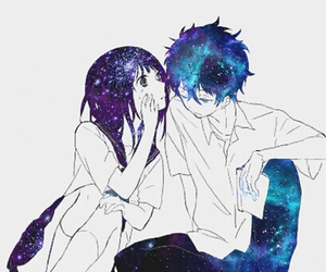 anime, galaxy, and manga image