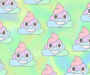 background, pattern, and poop image