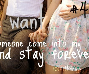true love, 1000 things i want, and forever together image