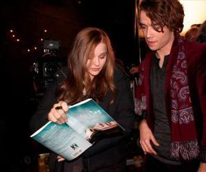 book, if i stay, and movie image