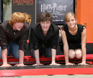 harry potter, emma watson, and daniel image