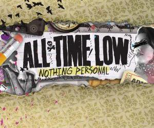 all time low, nothing personal, and music image