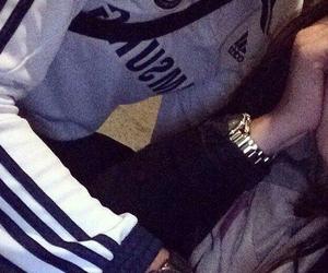 couple, adidas, and thug love image