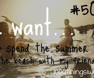 summer, 1000 things i want, and adventure image