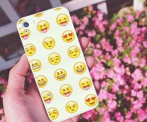 iphone, emoji, and case image