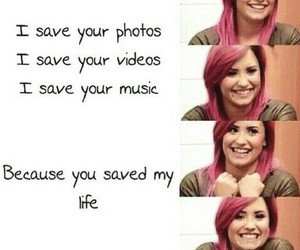 demi lovato, lifesaver, and stay strong image