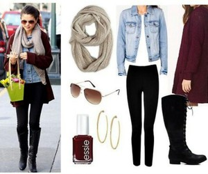 outfit and selena gomez image