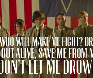 bring me the horizon, drown, and fight image