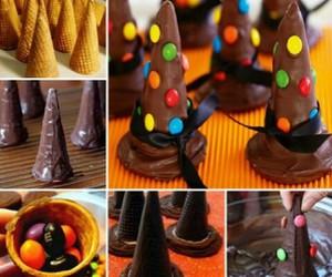 chocolate, food, and Halloween image