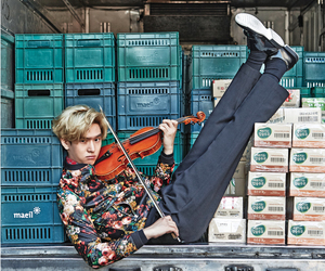 funny, music, and violin image