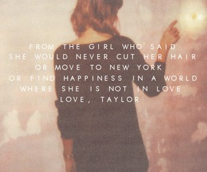 Taylor Swift, 1989, and quote image