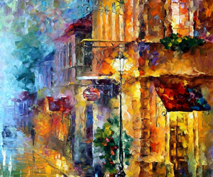 Oil Painting, art, and canvas image