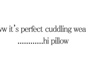 pillow, weather, and cuddle image