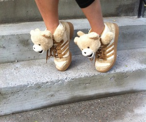 adorable, teddybear, and Jeremy Scott image