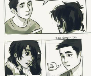 nico di angelo and frank zhang image
