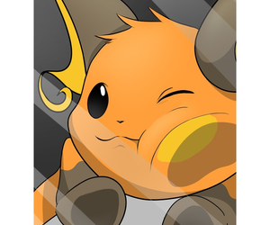 pokemon, raichu, and cute image