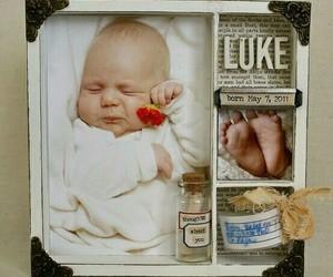 baby boy, memories, and decor image