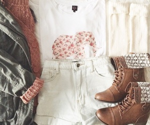 boots, cute clothes, and style image