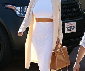 kim kardashian, outfit, and style image
