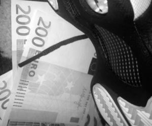 money, minet, and airjordan image