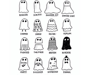 ghost, cute, and funny image