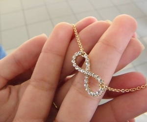 infinity, necklace, and infinite image