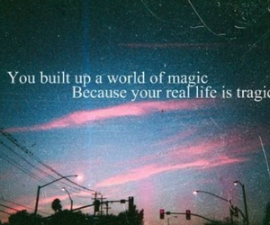 life, magic, and quote image