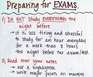 school, study, and exam image