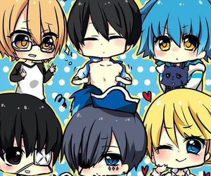 anime, love stage, and black butler image