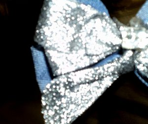 blue, girly, and glitter image
