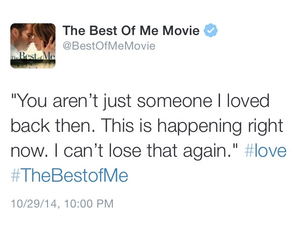 nicholas sparks, quote, and the best of me image