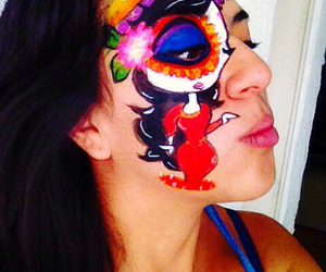 catrina, cool, and costume image