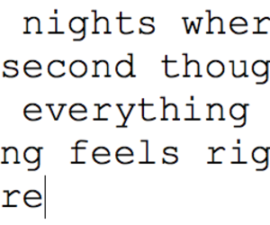 quote, night, and text image