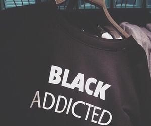 black, grunge, and addicted image