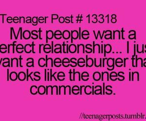 cheeseburger, funny, and teenager post image