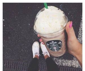 starbucks and converse image