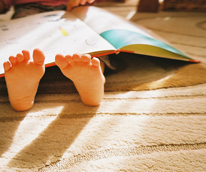 baby, book, and indie image