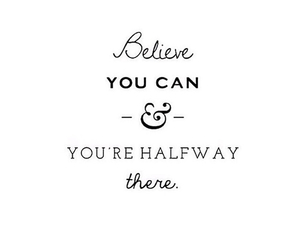 quote, believe, and life image