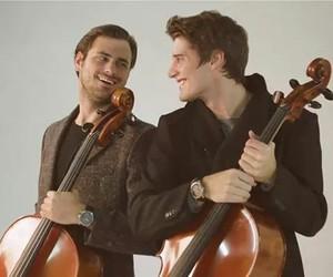 cello, handsome, and photoshoot image